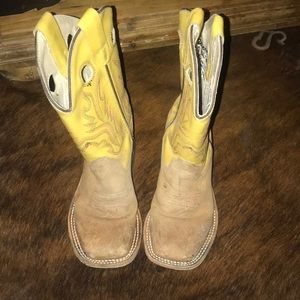 Toddler cow boy boots